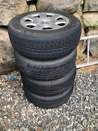 4 tires with rims, good condition Ringwood, 07456