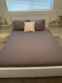 Gray and white bed sheet Fountain Valley, 92708