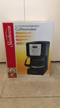 Sunbeam 5 cup programmable Coffeemaker [NEW UNOPENED] Vancouver, V5T 1P1