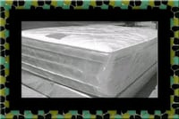 "Full 16"" double pillow top mattress with box sprin Washington, 20002"