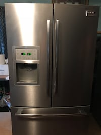 Stainless steel french door refrigerator Rialto, 92376