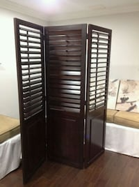 2 Wooden Screens - $300 each Mississauga, L4Z 0B4