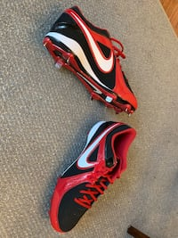 Nike metal baseball cleats size 11.5 Glen Burnie, 21061