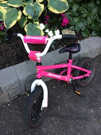 toddler's pink bicycle with training wheels North Vancouver, V7L 2J5