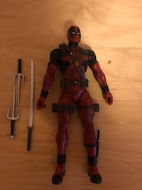 Dead pool action figure (comes with everything) Toronto, M2N 6X4