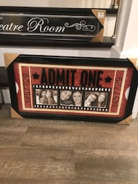 Theatre themed framed wall decors Cambridge, N1R 5S4