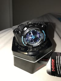 G-shock watch never worn bought for 200 price is also negotiable hit me with you best offers and we can make a deal!:)