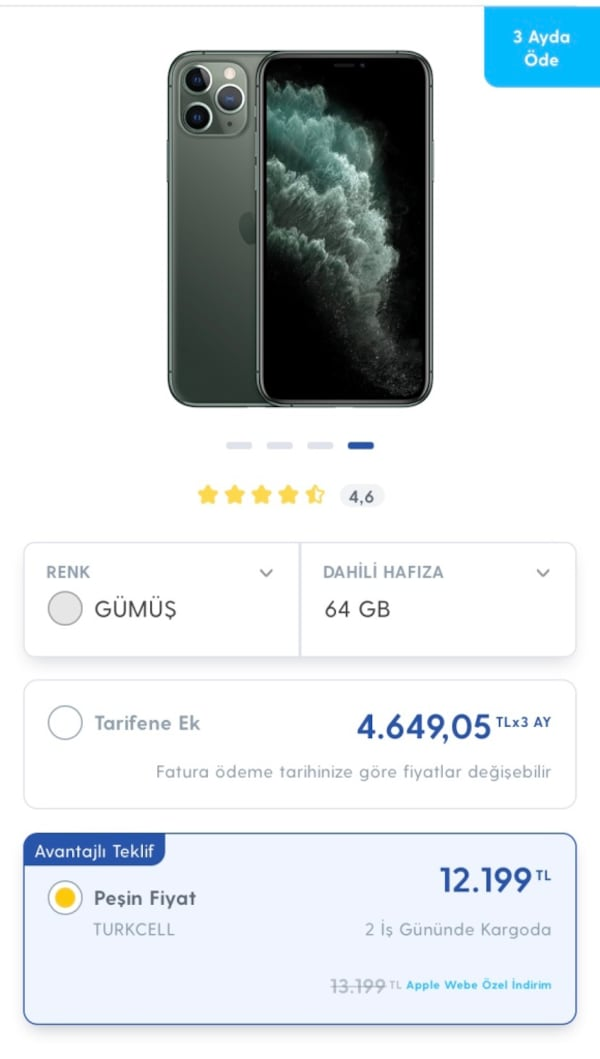 iphone 11 pro 64gb 0
