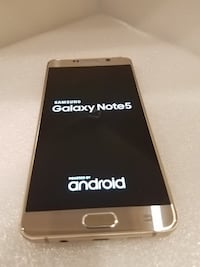 SAMSUNG GALAXY NOTE 5 *GOLD* 32GB *UNLOCKED TO ALL CARRIERS* Mississauga