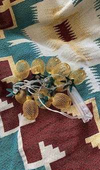 Never used Pineapple String Lights Battery Powered