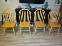 **Set of Four Wooden Chairs!!** Las Vegas