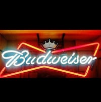 Budweiser Neon light up sign