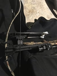 Black compound bow in case St Catharines, L2P 1W8