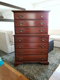 Solid Cherry Wood Dresser Chest of 5 Drawers Renton, 98056