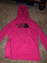 pink and black The North Face pullover hoodie Fond du Lac, 54935