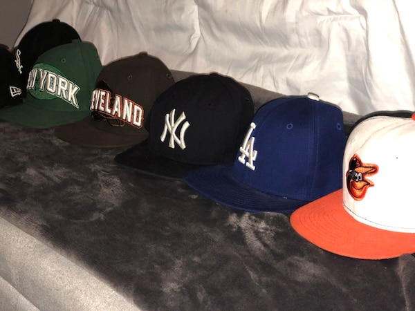 Authentic Kids fitted caps