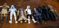 lot of star wars figures all only 30 dollars