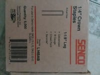 Senco crown staples box Newark, 43055