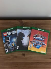 Xbox One Wireless Controller and 3 Games Fairfax, 22032