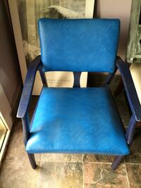 Blue Leather Chair. Clarksville, 37042