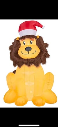 Christmas Inflatable 6' Lion w/ Santa Hat by Gemma Stephens City, 22655