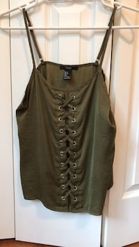Green tank top from forever 21 (small) Fairfax, 22032