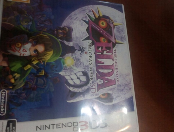 The legend of zelda majoras mask 3DS/2DS