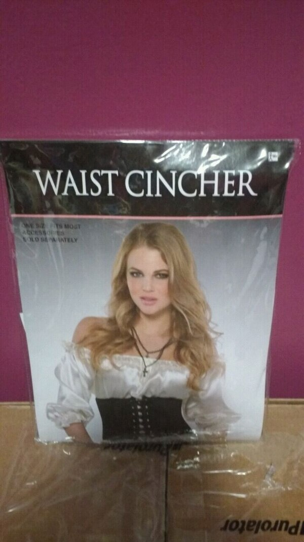 One size fits most waist cincher