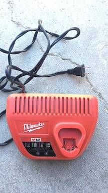 Red milwaukee m12 charger