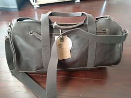 Tuckerman leather duffle bag by Timberland