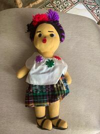 """Guatemala typical doll 11"""" tall Jessup, 20794"""