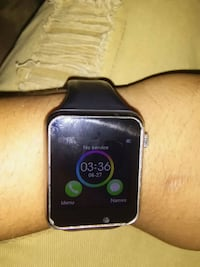 black and silver smart watch Houston, 77026