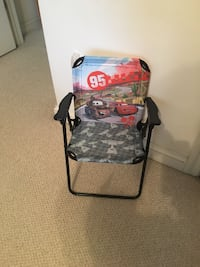 black and gray camouflage camping chair. Toddler size Virginia Beach, 23451