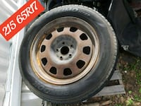 gray bullet hole car wheel with tire McAllen