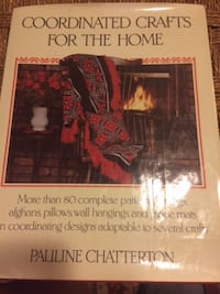 Vintage 1980 Coordinated Crafts for the Home by Pauline Chatterton Wilmington