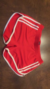 White stripped red shorts size small Blainville, J7C 4X9