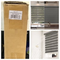 Chicology Dual Layer & Privacy Free-Stop Cordless Zebra Roller Shades