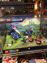 Lego Nexo Knights Store Display With Light  $100  Fremont pickup