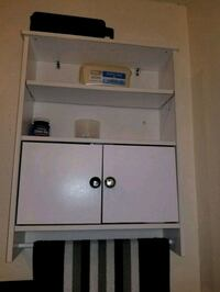 white wooden cabinet with shelf Baton Rouge, 70810