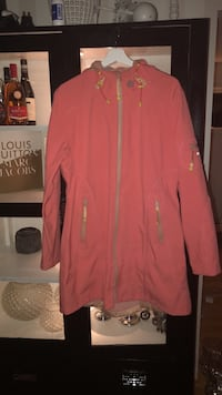 rosa zip-up hettegenser Trondheim, 7021