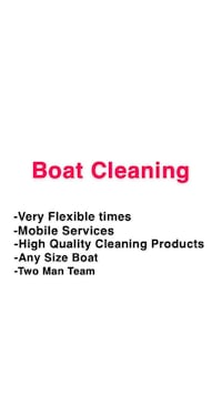 Boat Cleaning Charleston