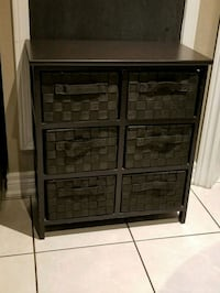 Brown cabinet with drawers Brampton, L7A 2T3