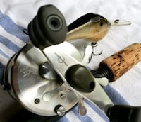 Shimano Calculta 200's and a Quantum rod and reel. St. Louis, 63146