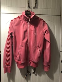 pembe zip-up kapüşonlu 8410 km