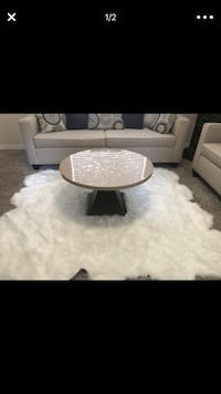 round white wooden table with two chairs North Las Vegas, 89081