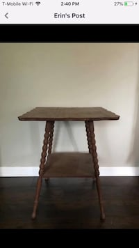 Antique parlor table  Shirley, 11967