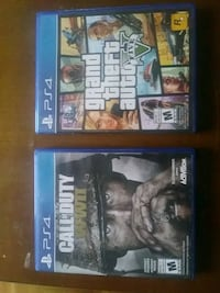 two Sony PS4 game cases Toronto, M9B 6B5