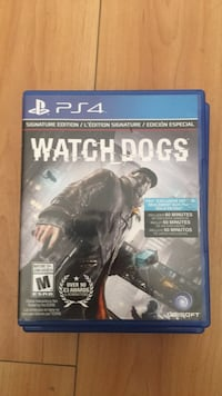 Watch dogs ps4 game  Surrey, V3T 0E3