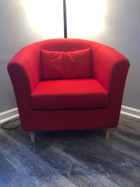 Red IKEA Accent Chair Hoschton, 30548