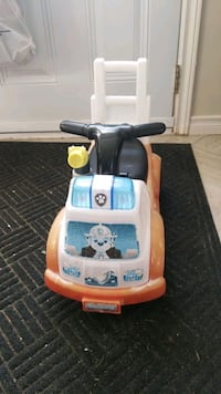 paw patrol ride on toy